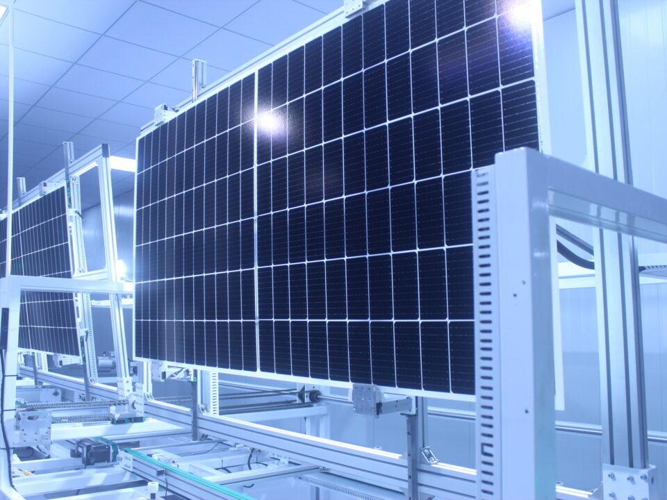 Produkcja paneli fotowoltaicznych